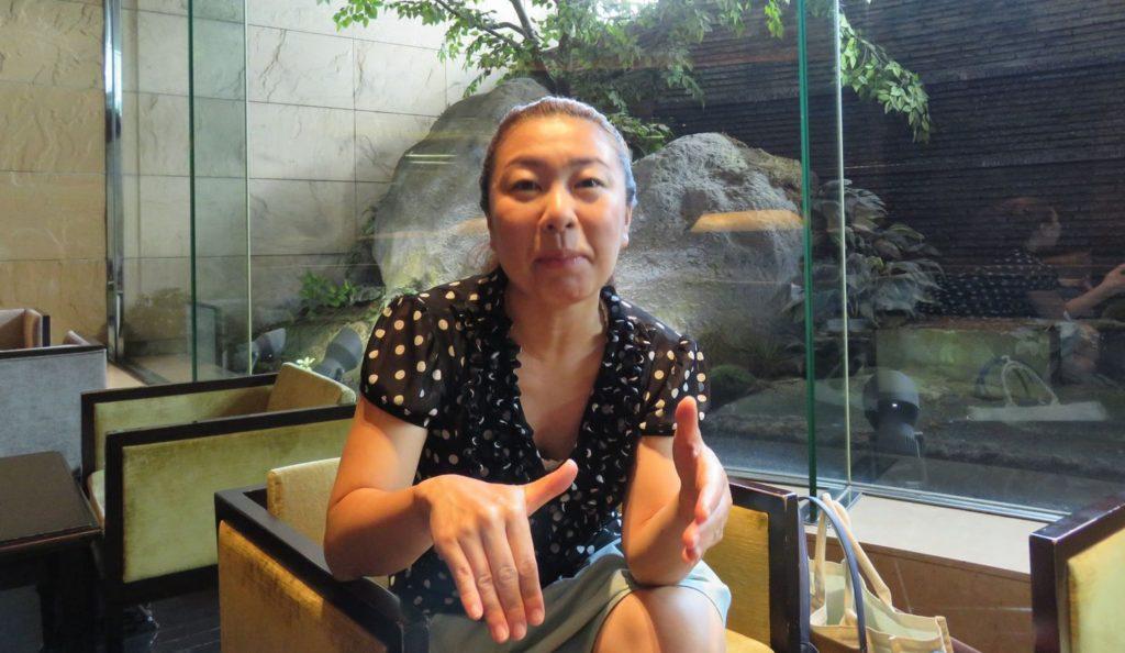 東北の起業家支援について語る一般社団法人「WIT」代表の山本未生さん(撮影:佐藤和文)