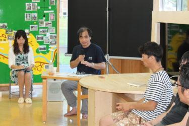 秋田県五城目町で哲学者の内山節さんが講演