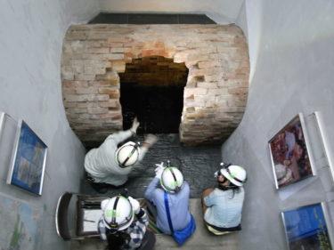 映画「ゴールデンスランバー」舞台の下水洞窟が、仙台の新名所に