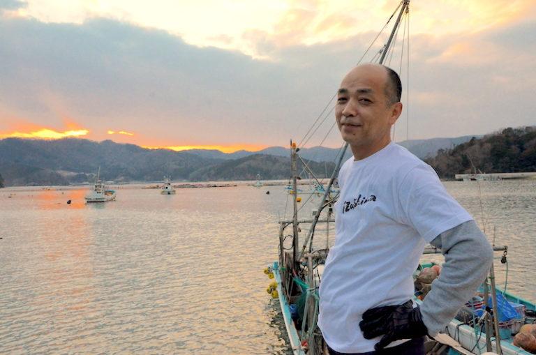 出島の豊かな自然を活かした体験も提供したいと話す佐藤淳さん