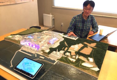 「誰もが原発を語れるように」福島第一原発のジオラマ作り、クラウドファンディングに挑戦中