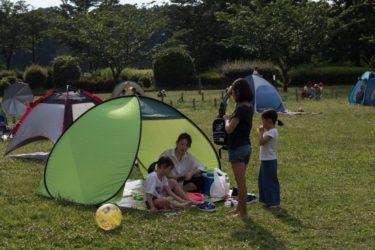 「公園でテントを張る人」が都内で増加中 人気の理由を追った