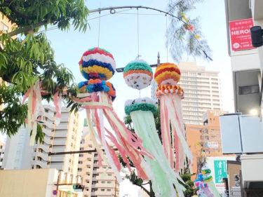 仙台・長町商店街を彩る七夕飾り