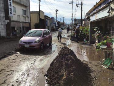 台風19号からわずか2週間後の「二重被災」に悲鳴 福島県相馬市