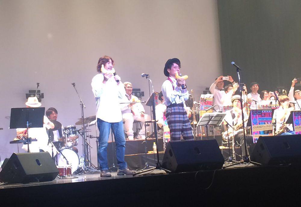 「Journey To Jazz2019」で演奏する林さん(前列右)