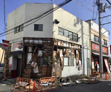 福島県沖地震「最大震度」を観測した郷里・相馬の街は