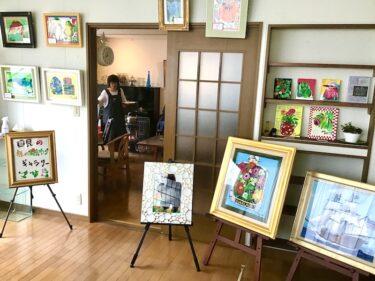 誰でも元気になれるギャラリー・カフェ 「コロナに負けない」の画家が開店 仙台