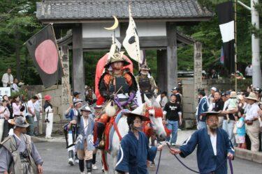 地震被害で相馬野馬追の出陣式が開催の危機 相馬中村神社がクラファン募る