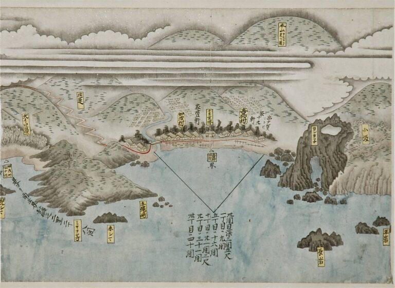加茂青砂の設計図